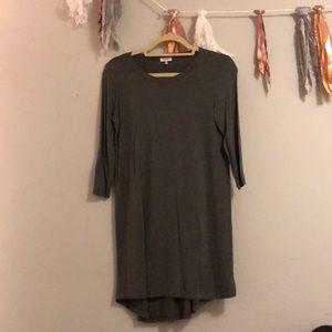 Long sleeve T-shirt dress, worn once!